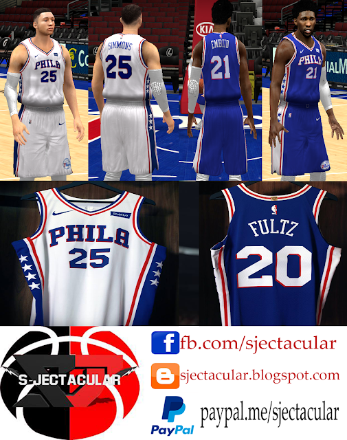 S-JECTACULAR  NBA 2K14 Association and Icon Jerseys 2017 7a1de1b7e
