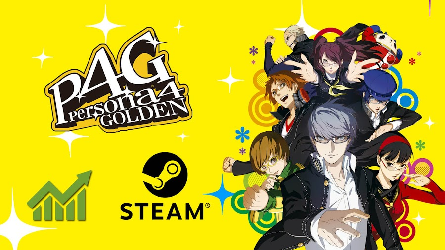 persona 4 golden steam player count sales record break pc atlus action adventure role playing 2020 megami tensei