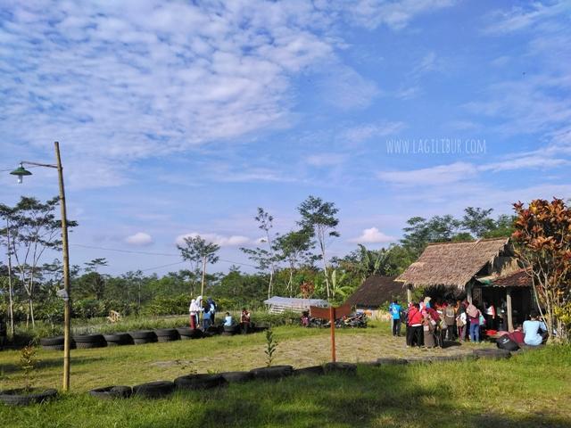 Outbond Desa Wisata Pancoh Sleman DIY