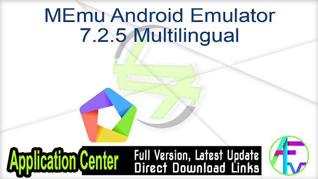 MEmu Android Emulator 7.2.5 Multilingual