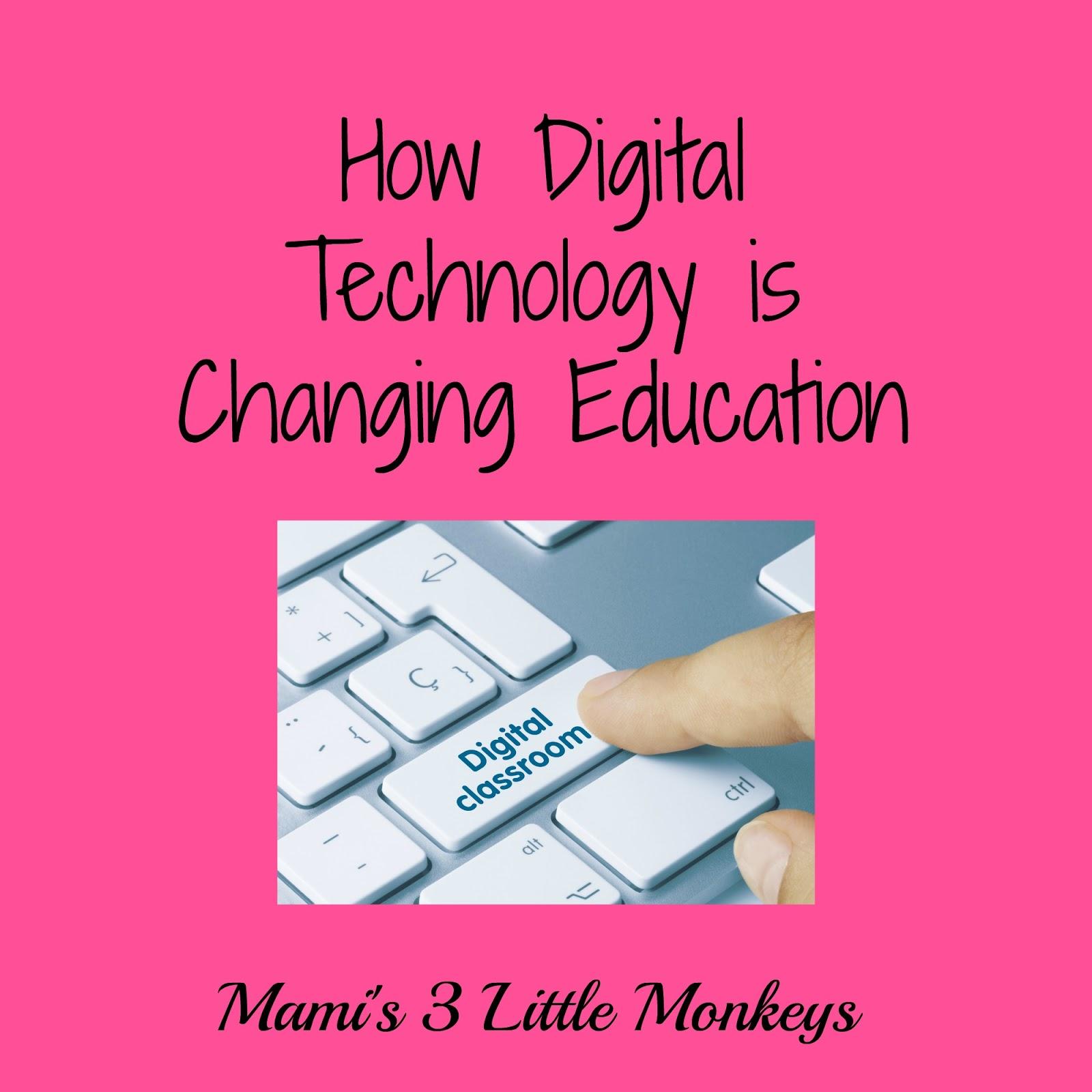 Mami's 3 Little Monkeys: Guest Post: How Digital Technology