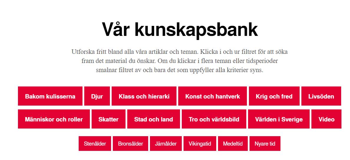 Ruotsissa on paljon muutakin hyvin hoidettua. Esimerkiksi perinteisestä  ruokakulttuurista on paljon kirjoitettu täällä. f1244723c0