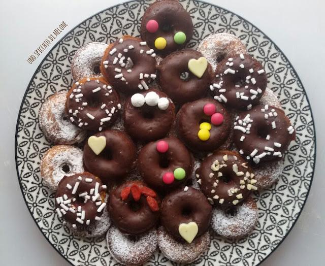 ciambelline _ Torte decorate per le feste natalizie