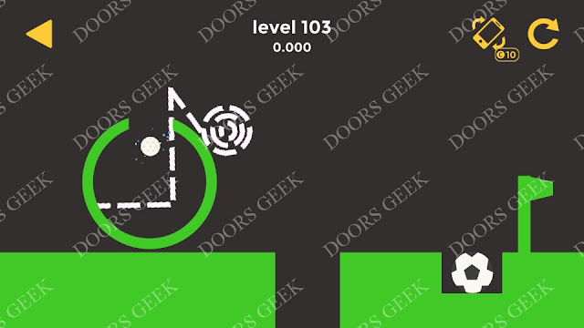 Ball & Ball Level 103 Solution, Walkthrough, Cheats for android and ios