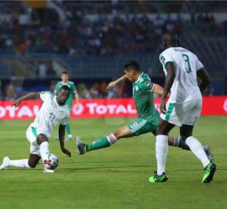 الجزائر تبلغ نصف نهائي كأس أفريقيا