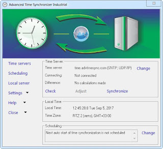 Advanced Time Synchronizer Industrial 4.3 Build 809 Multilingual Full Version