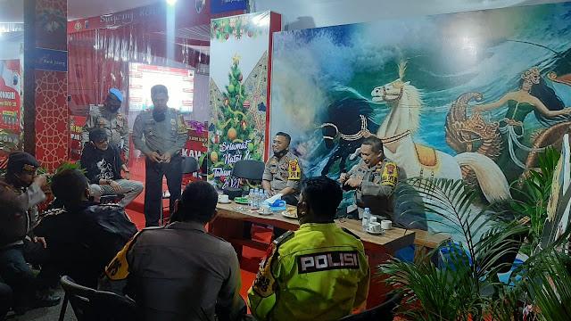 Kabid Propam Polda Jateng Kunjungi Pospam di Wonogiri