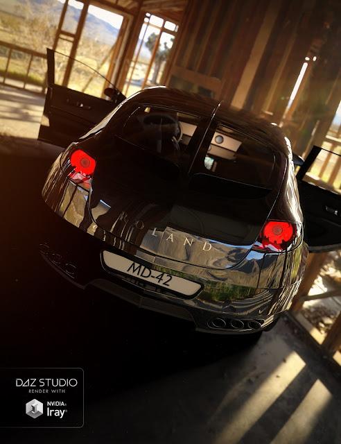 Car Roland Iray Addon