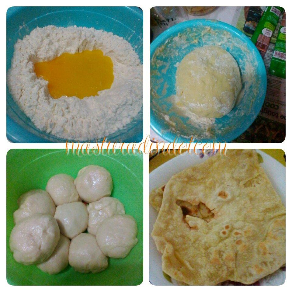 resepi roti canai lembut, cara mudah buat doh roti canai, homemade roti canai