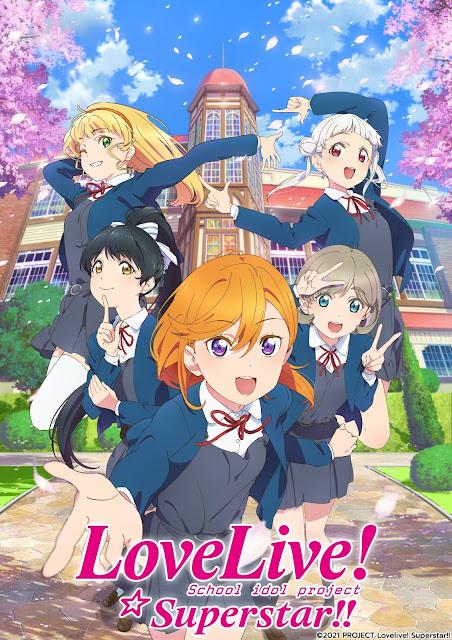 El anime Love Love! Superstar!! tendrá 12 episodios.