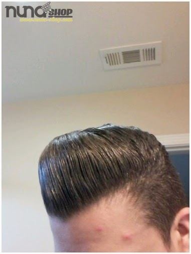 Pemakaian Pomade Murrays Hair Styling atau Minyak Rambut Nu Nile 2