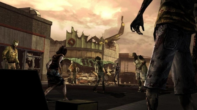 Game Zombie The Walking Dead