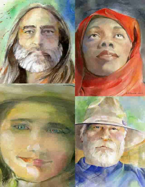 FREE DEMO & 2-DAY WORKSHOP: Watercolor Portraits with MOLLY MURRAH. Mar 4, 2017. 11-12:30; Mar 25-26, 2017. 10-4:30