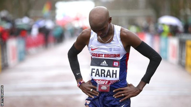 World Half Marathon: Mo Farah gets bronze in Cardiff
