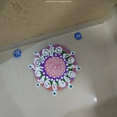 Rangolis for Hindu Festivals