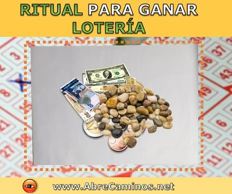 ritual ganar premio chance lotto