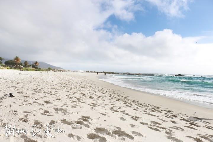 Paseo por la playa de Camps Bay