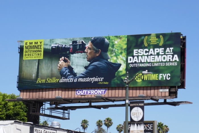 Ben Stiller Escape at Dannemora Emmy billboard
