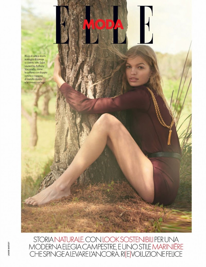 Daphne Groeneveld Featured in Elle Magazine - Italy May 2021