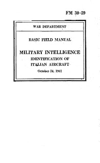 Identification Of Italian Aircraft, 24 October 1941