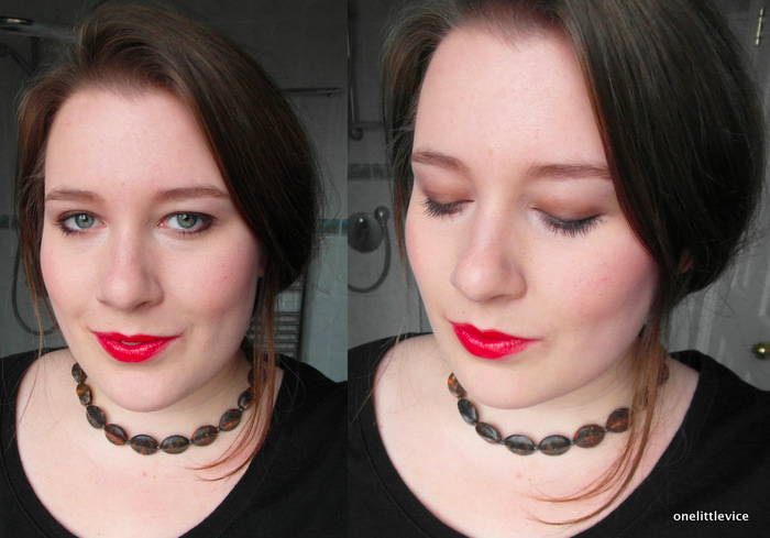 One Little Vice Beauty Blog: Glo & Ray Party Makeup Look