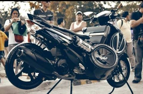 Wow Inilah 45 Foto Modifikasi Motor Matic Terkeren Motor Indonesia
