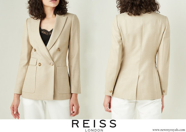 Kate Middleton wore Reiss Larsson double-breasted blazer
