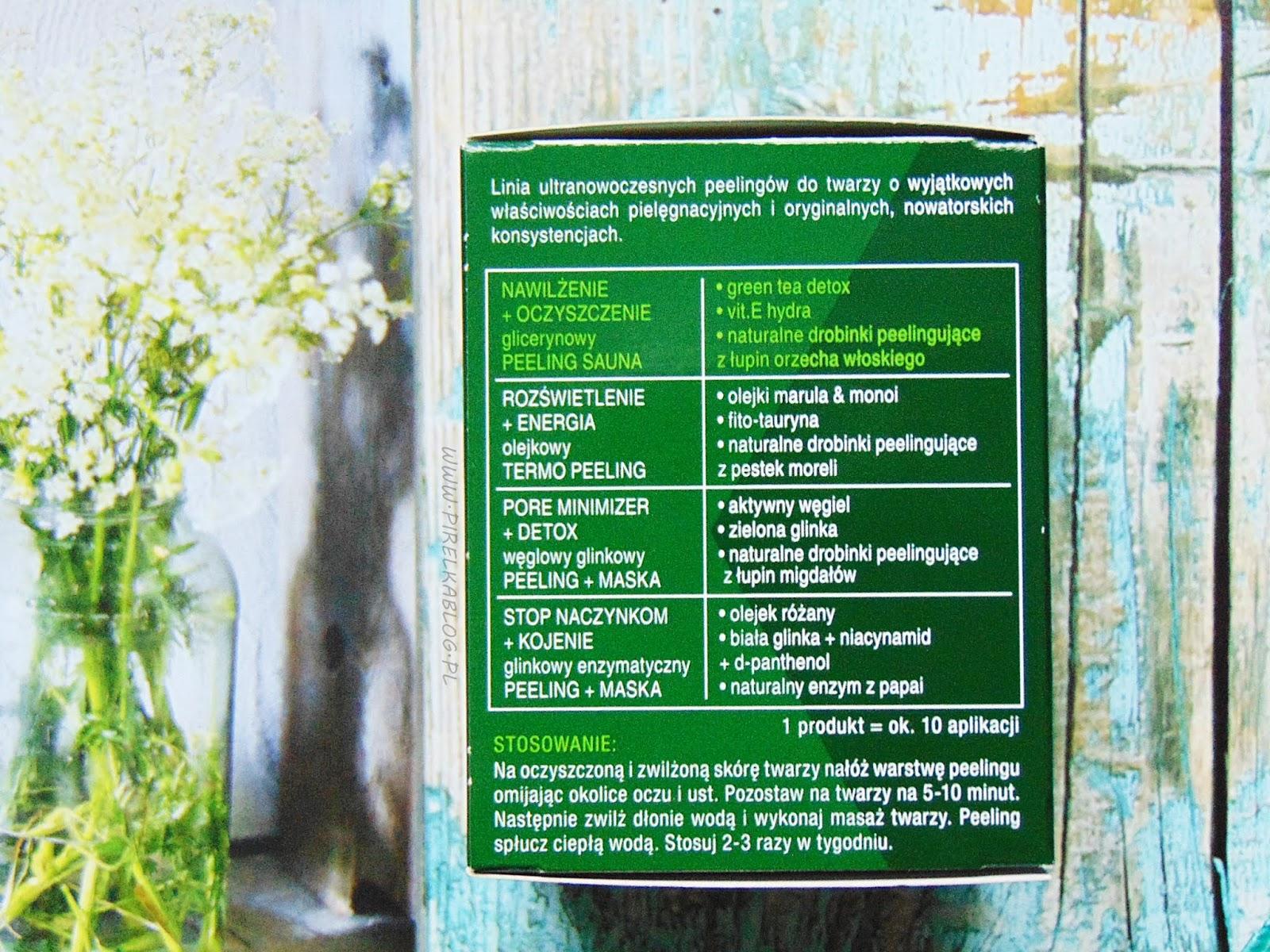 Perfecta nawilżenie+oczyszczenie, Glicerynowy peeling SAUNA