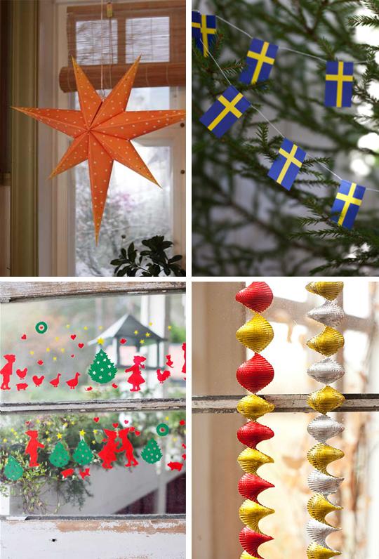 Gammeldags julpynt hos Broarne | www.var-dags-rum.se