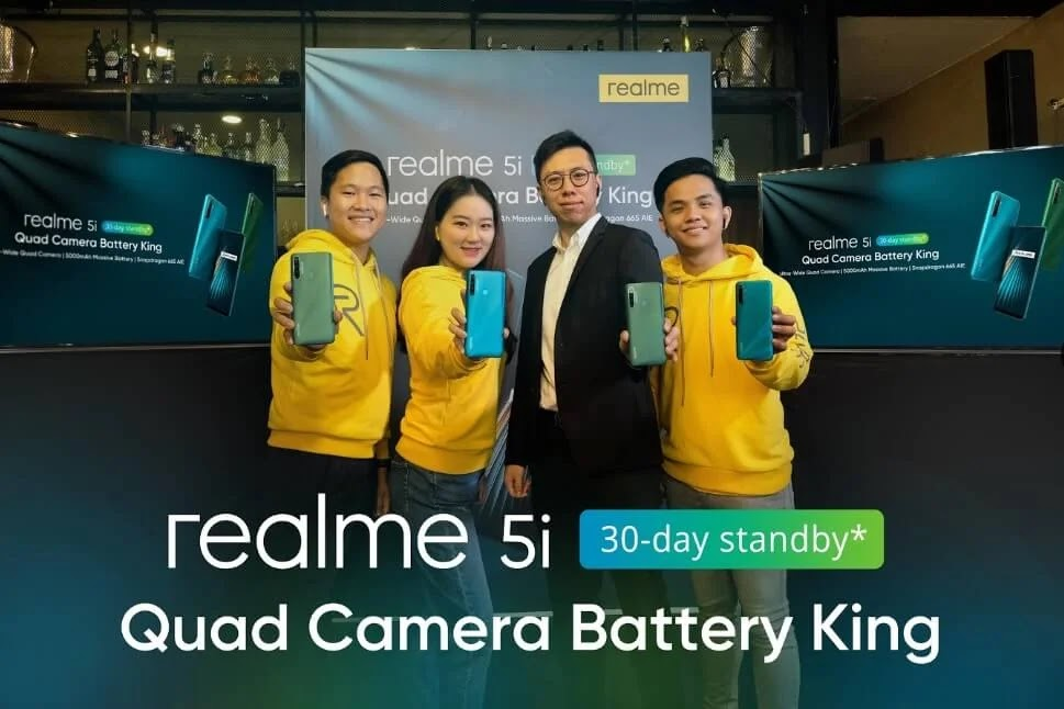 Realme 5i with Quad Camera and 5000mAh Battery Launches in PH for Php6,990