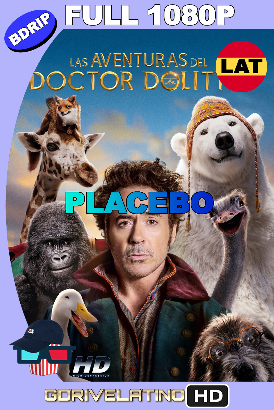 Dolittle (2020) [PLACEBO] BDRip FULL 1080p Latino-Ingles MKV