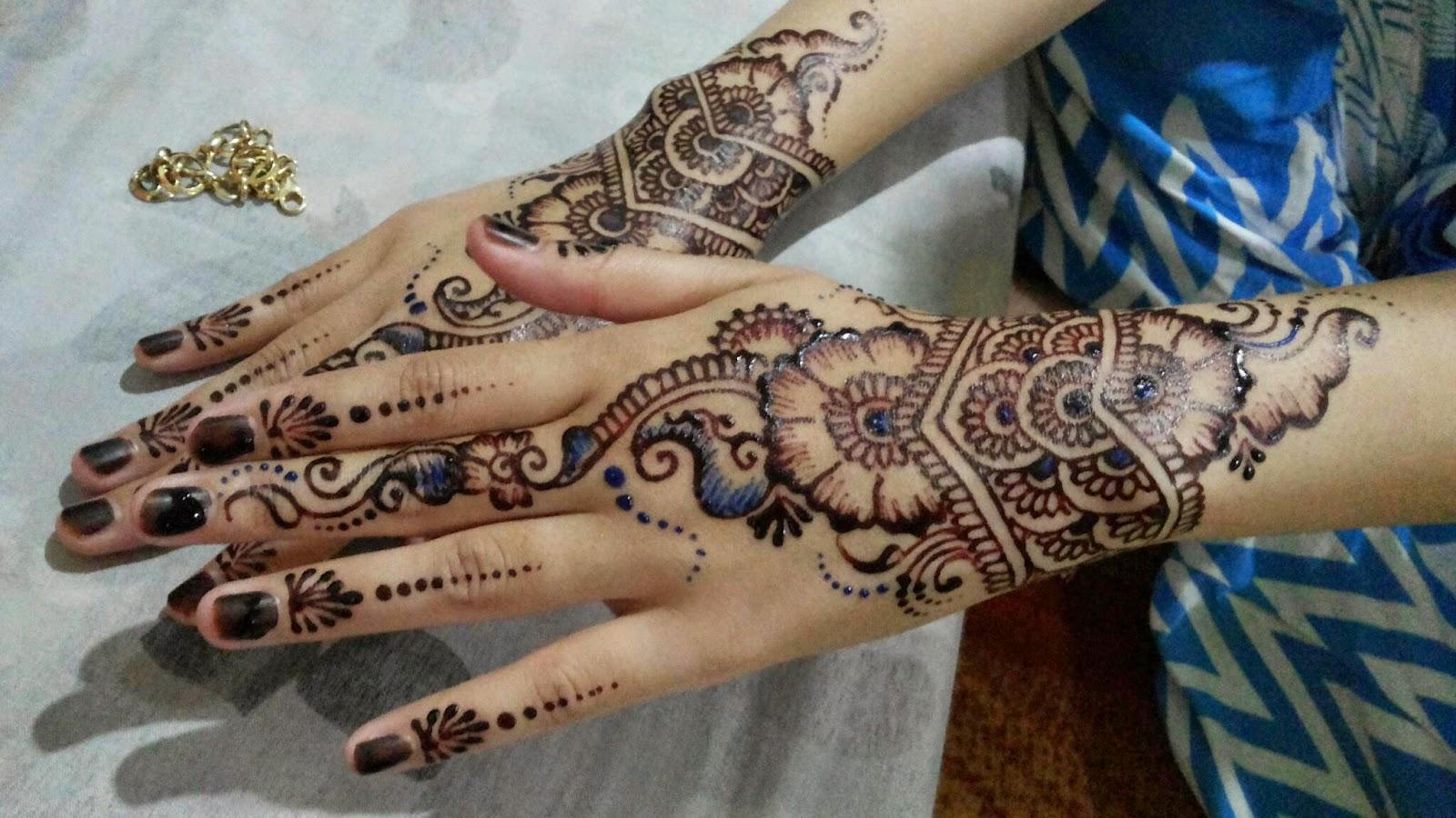 Gambar Henna Unik Balehenna