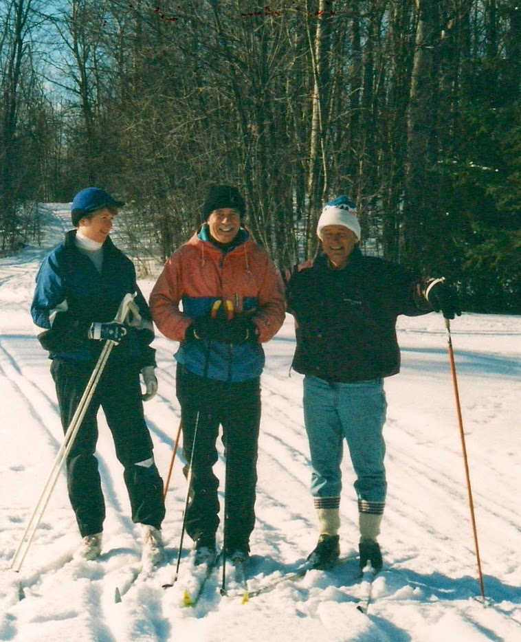 Cross country skiing, Manotick, Ontario.