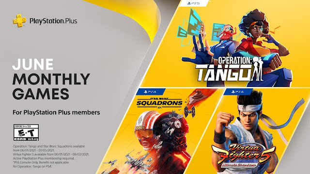 PlayStation Monthly Games of June includes Operation: Tango, Virtua Fighter 5 Ultimate Showdown, and Star Wars: Squadrons   TechNeg