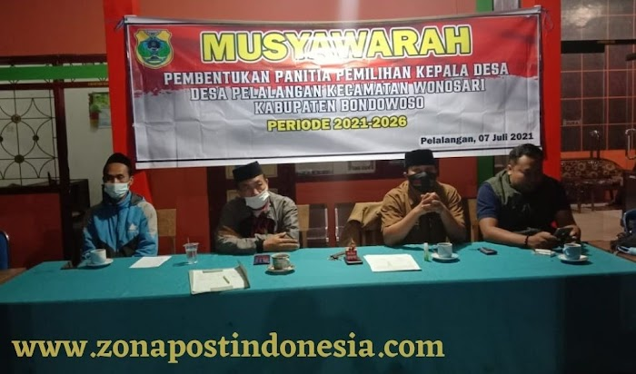 BPD Desa Pelalangan, Laksanakan Pembentukan Panitia Pilkades Periode 2021-2026