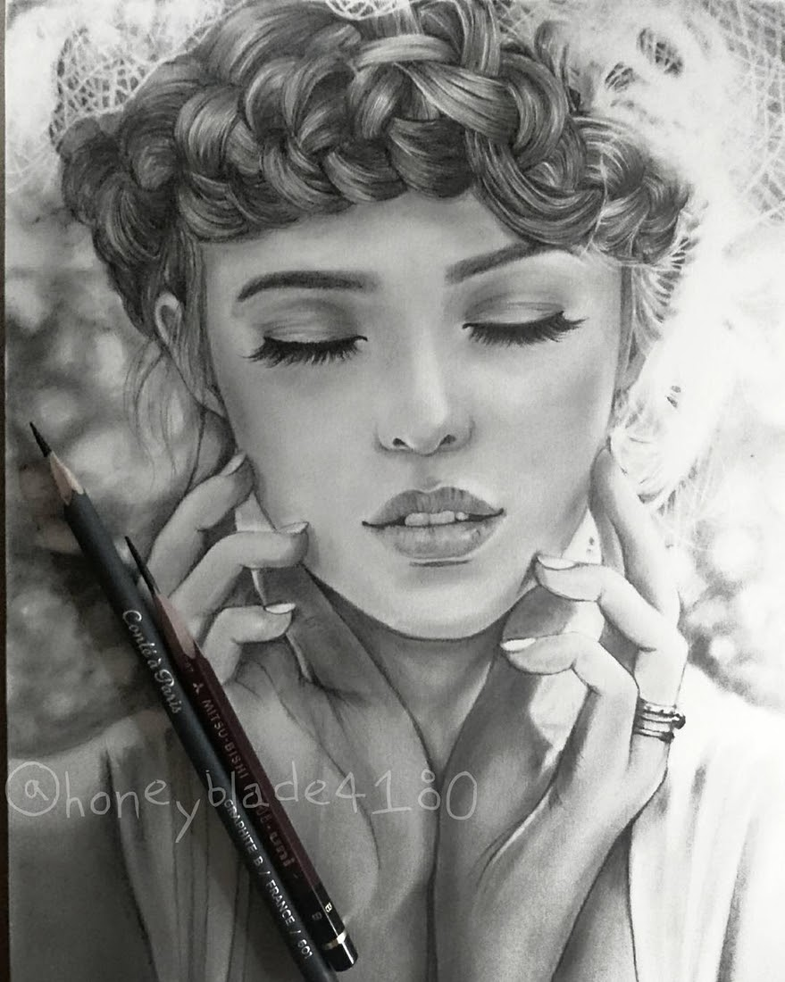 10-Ashlyn-Pearce-YU Pencil-Portrait-Drawings-of-Celebrities-and-Non-www-designstack-co