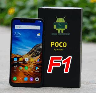 POCO F1 Mi Account Unlock Offical Firmware