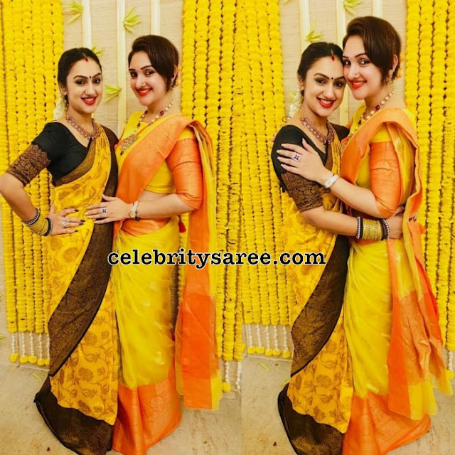 Preeta Sridevi Vijaykumar Bridal Sarees