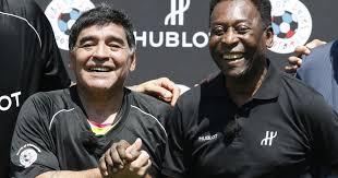 """Los dos mejores futbolistas de la historia, encabezaron el """"Balón de Oro Dream Team"""""""