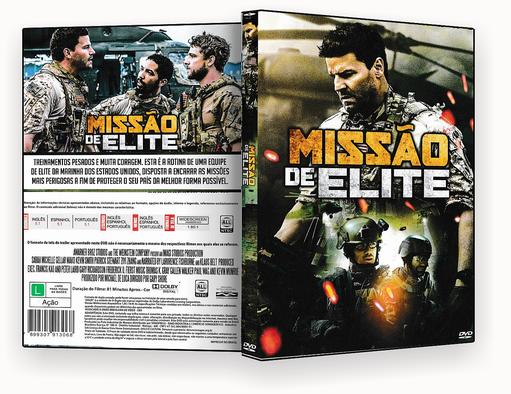 CAPA DVD – Missão de Elite – ISO