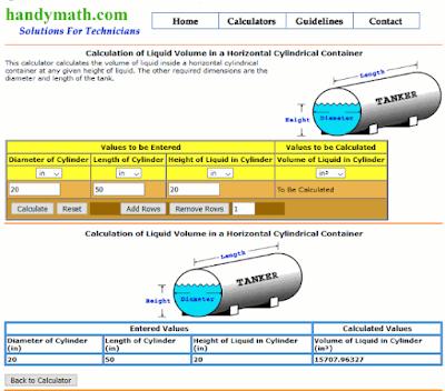 Cara menghitung volume cairan dalam tangki-1