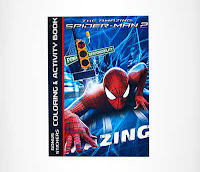 Alfamind Buku Gambar Marvel Amazing Spider-Man 2 ANDHIMIND