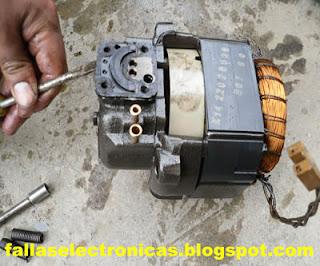 las valvulas del compresor de nevera