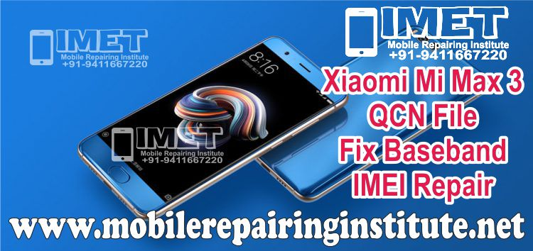 Xiaomi Mi Note 3 QCN File For Fix Baseband IMEI Repair