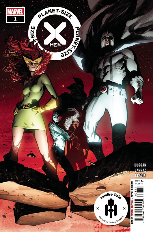 Cover of Planet Sized X-Men #1