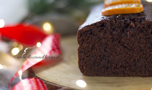 Plumcake al triplo cioccolato e clementine