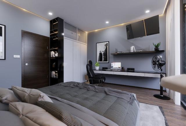 Bedroom Free Sketchup Interior Scene