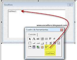 VBA: El control ListView en Excel