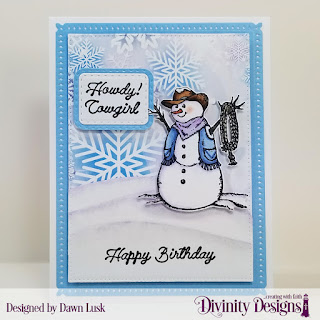 Stamp/Die Duos: Country Christmas Custom Dies: Snowflake Sky, Pierced Rectangles, Double Stitched Rounded Rectangles, Rounded Rectangles, Curvy Slopes Paper Collection: Christmas 2019