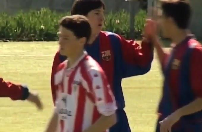 Kỹ thuật qua người và dứt điểm của Messi ở lò La Masia